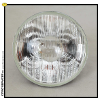 "DS/ID Main Beam Headlamp 9/67-> CIBIE glass with several marks ""E2"""
