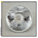 "DS/ID Main Beam Headlamp 7/72-> CIBIE ""H4 Iode"" glass"