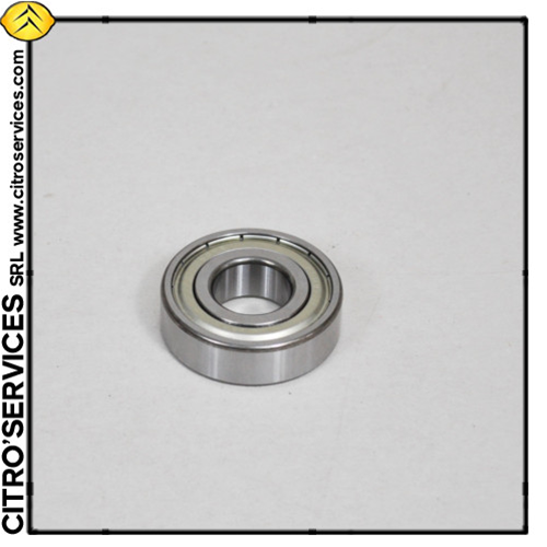 Crankshaft ball bearing 15 x 42 x 13